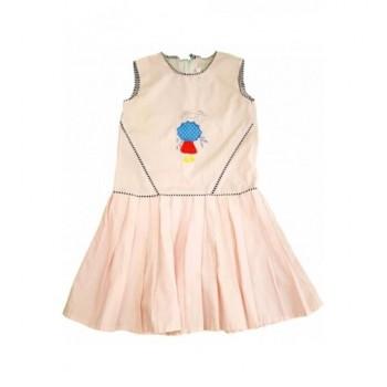 Esernyős rózsaszín ruha (128)
