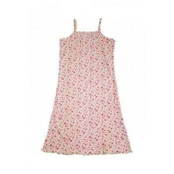 Virágmintás ekrü ruha (152)