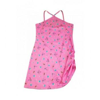 Rózsás rózsaszín ruha (152-164)