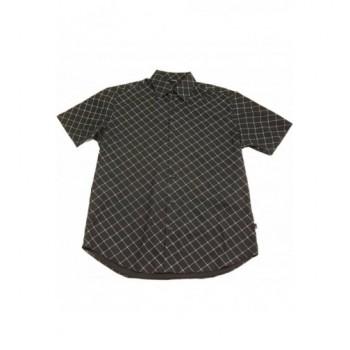 Kockás fekete ing (170-176)
