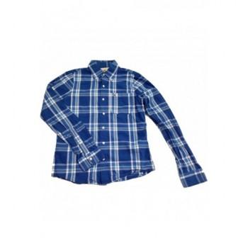 Kockás kék ing (170)