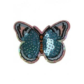 Ruhára vasalható folt – rózsaszín pillangó
