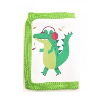 Dínós, zöld pénztárca