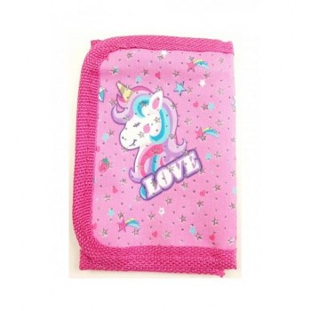 Pink unikornis pénztárca