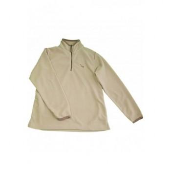 Drapp polár pulóver (152)