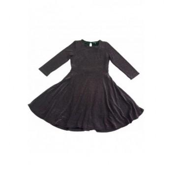 Csillogós lila ruha (152)