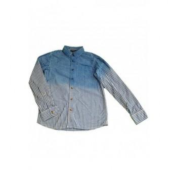 Kék kockás ing (146-152)