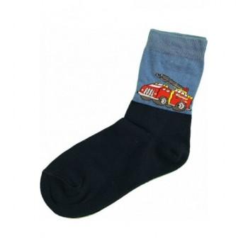 Tűzoltóautós prémium zokni (26-28)