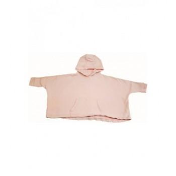 Rózsaszín pulóver-poncsó (104)