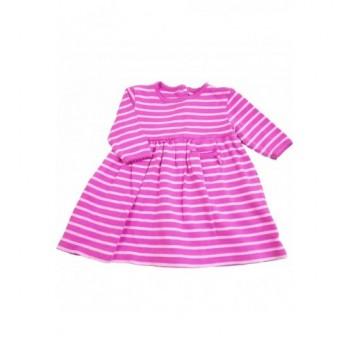 Pink csíkos ruhácska (62)