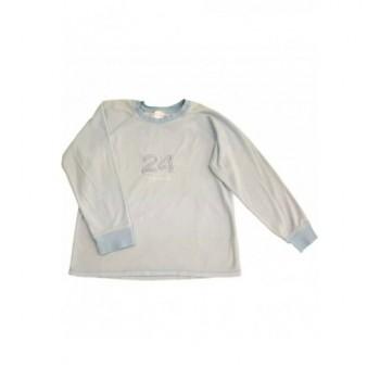 Halványkék pulóver (140-146)