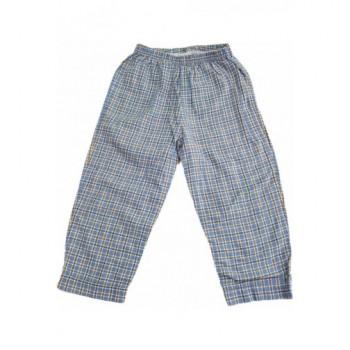 Kockás kék pizsamanadrág (92)