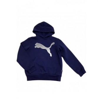 Sötétkék Puma pulóver (140)