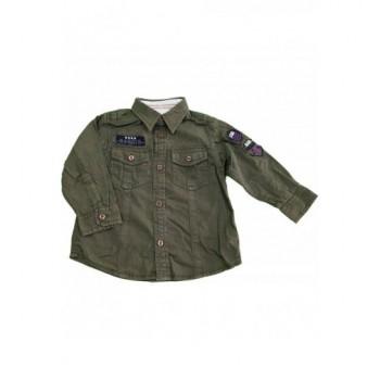 Vagány sötétzöld ing (92)