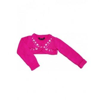 Strasszköves pink boleró (110)