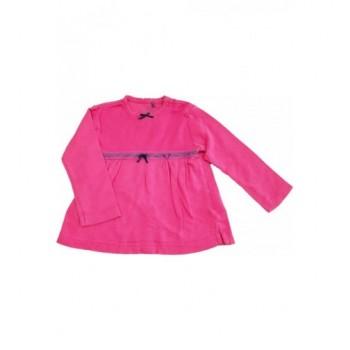 Szívecskés pink felső (80)
