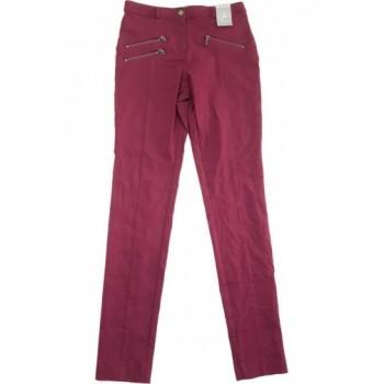 Bordó skinny nadrág (34)