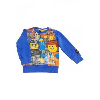Legós kék pulóver (104)