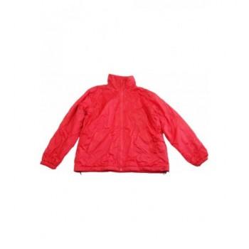 Piros kifordítható kabát (164-170)