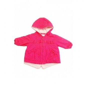 Pöttyös pink kabát (62)