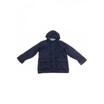 Sötétkék átmeneti kabát (134)