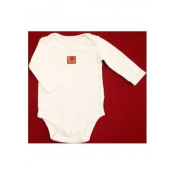 Baby boy fehér body (56-62)