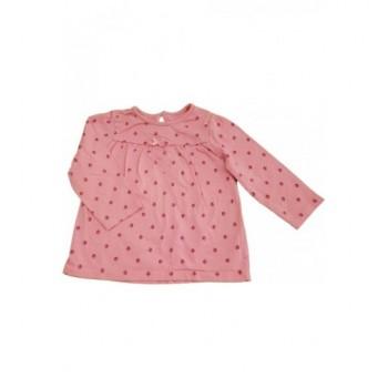 Virágos rózsaszín felső (74-80)