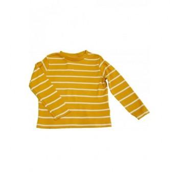 Csíkos mustársárga felső (86)