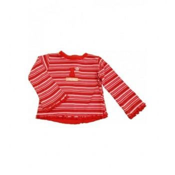 Csíkos piros felső (86)