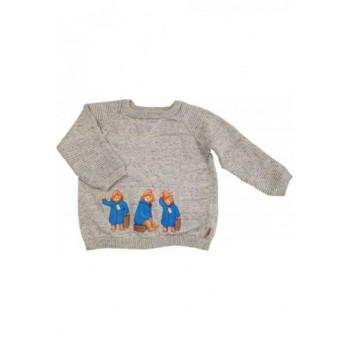 Paddington szürke pulóver (86)