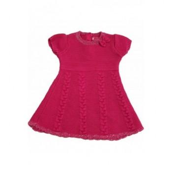 Bordó kötött ruha (74)