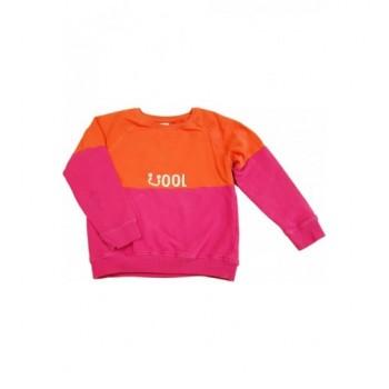 Pink-narancs pulóver (140)