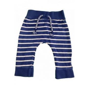 Csíkos kék melegítőnadrág (68)