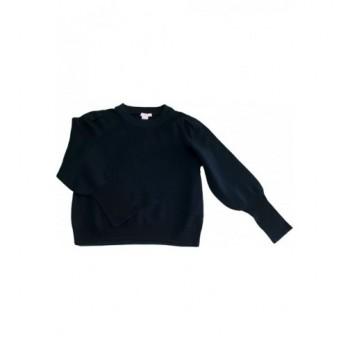 Sötétzöld H&M pulóver (152-158)