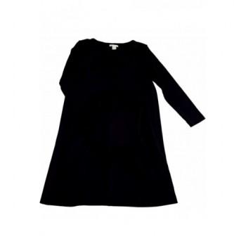 Zsebes fekete ruha (158-164)