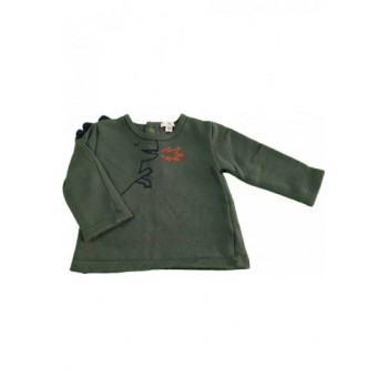 Dínós zöld pulóver (68)