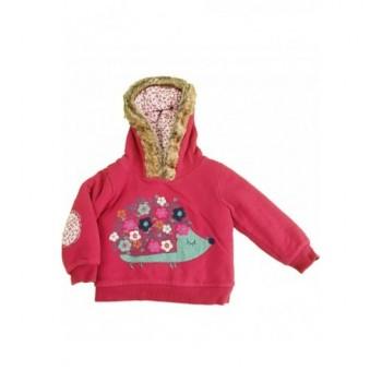 Sünis, bélelt bordó pulóver (80-86)