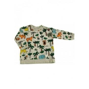 Vadállatos szürke pulóver (68)