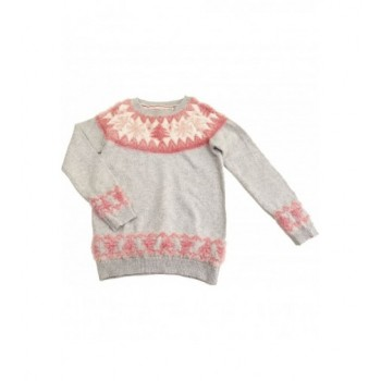Hópelyhes szürke pulóver (146)