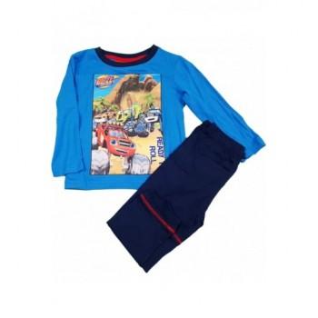 Láng és a szuperverdák kék pizsama (98)