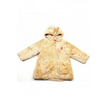 Szőrmés bézs kabát (92)