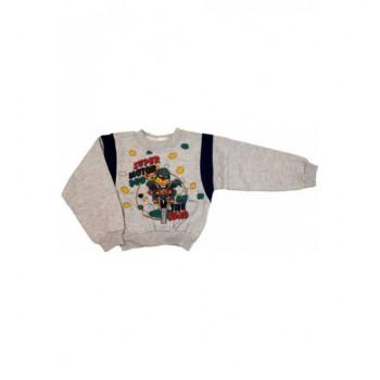 Motoros szürke pulóver (104)