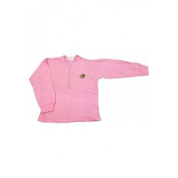 Hímzett rózsaszín felső (74)