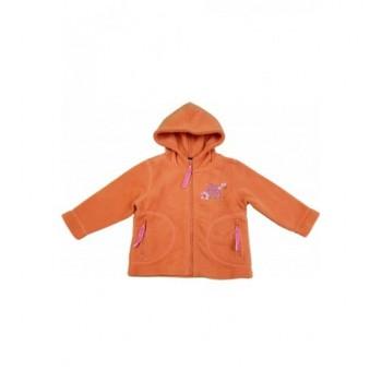 Narancssárga polár kardigán (68)