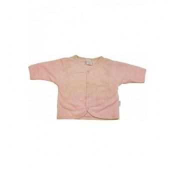 Rózsaszín plüss kardigán (74)