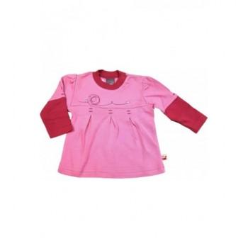Madárkás rózsaszín tunika (62)