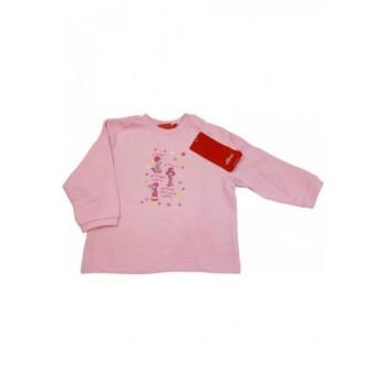 Kislányos rózsaszín pulóver (74)
