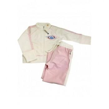 Rózsaszín-ekrü melegítő (98)