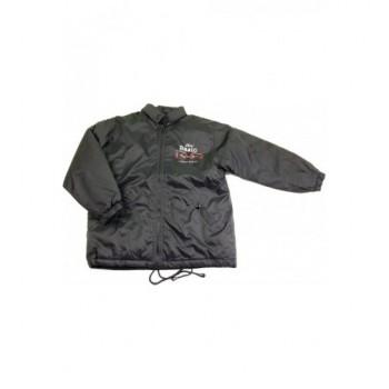 Feliratos fekete kabát (134-140)