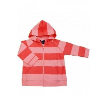 Rózsaszín csíkos kardigán (68)
